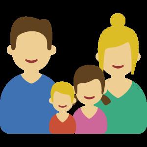 Prix d'une mutuelle santé pour une famille avec deux enfants