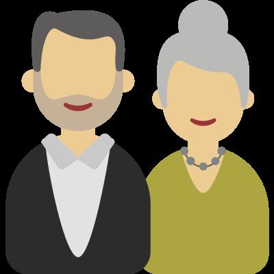 Couple de cinquantenaire (sans ALD)